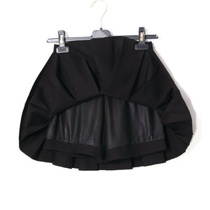 Sweet Japanese Black Pleated Skirt SE20618