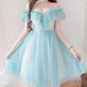 Sweet Japanese Ruffle Dress SE20462