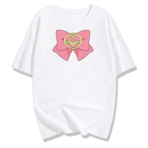 Sweet Japanese Sailor Moon Cotton T-Shirt SE20309