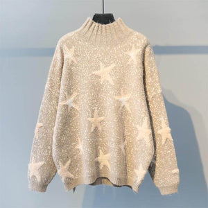 Sweet Star Knit Sweater SE20563