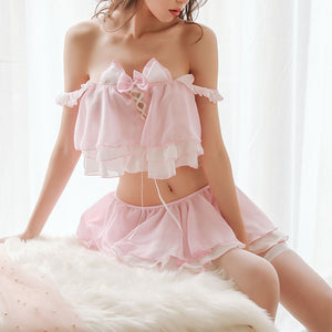 Cute Cat Ear Cosplay Uniform Suit Skirt SE20130