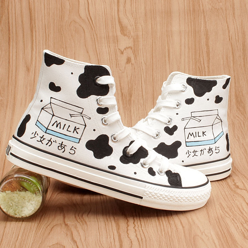 Cow Milk Shoes SE11086