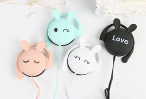 Cute kawaii bunny ear headset SE10203