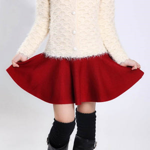 Sweet Knitted Skirt SE11394