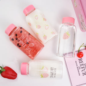 Pink Strawberry Drink Bottle SE10808