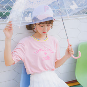 Strawberry Milk  T-shirt SE20045
