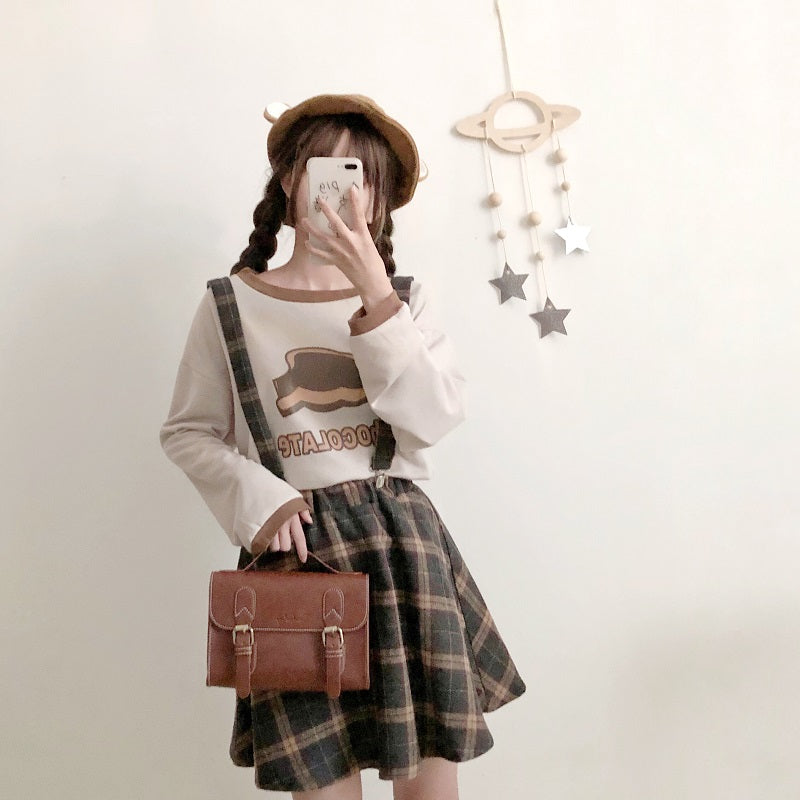 Cute Shirt +Skirt/Pants Outfit  SE10865