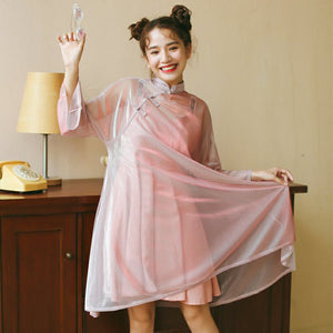 Harajuku Transparent Dress SE11367