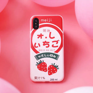 Strawberry Silicone Iphone Case SE20085