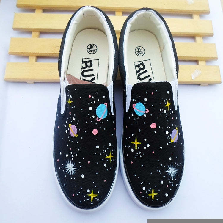 23a5abca83e Harajuku Fashion Galaxy Canvas Shoes SE10553 – SANRENSE