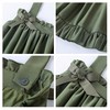 Cute kawaii Bow Chiffon Braces Skirt SE11423