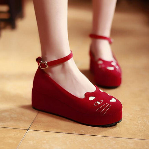 Kawaii Cats Platform Shoes SE1320