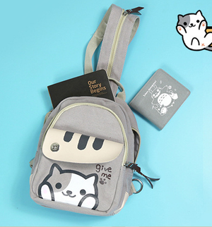 Kawaii cats cartoon backpack