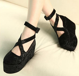 Cute lolita platform shoes