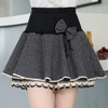 Women Wave Point Bow Skirt SE8907