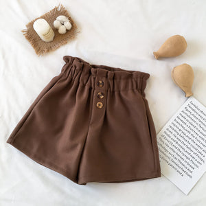 Woolen Casual Shorts SE20546