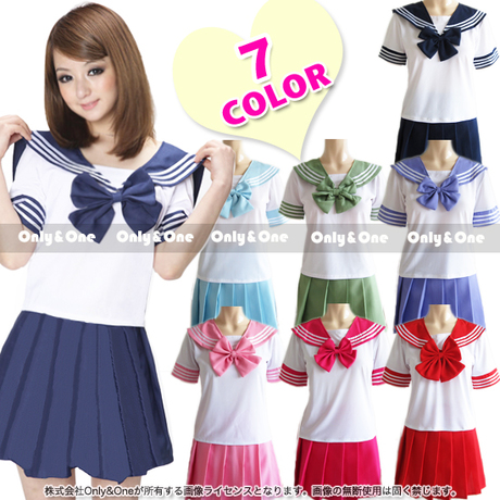 Cute kawaii students cosplay sailor suits SE1758