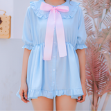 Slip-On Bow Tie Dress SE11148