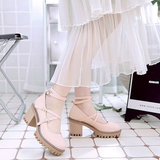 Lolita Students High-Heeled Shoes SE11402