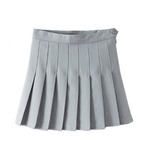 Candy Color Tennis Pleated Skirt SE9185