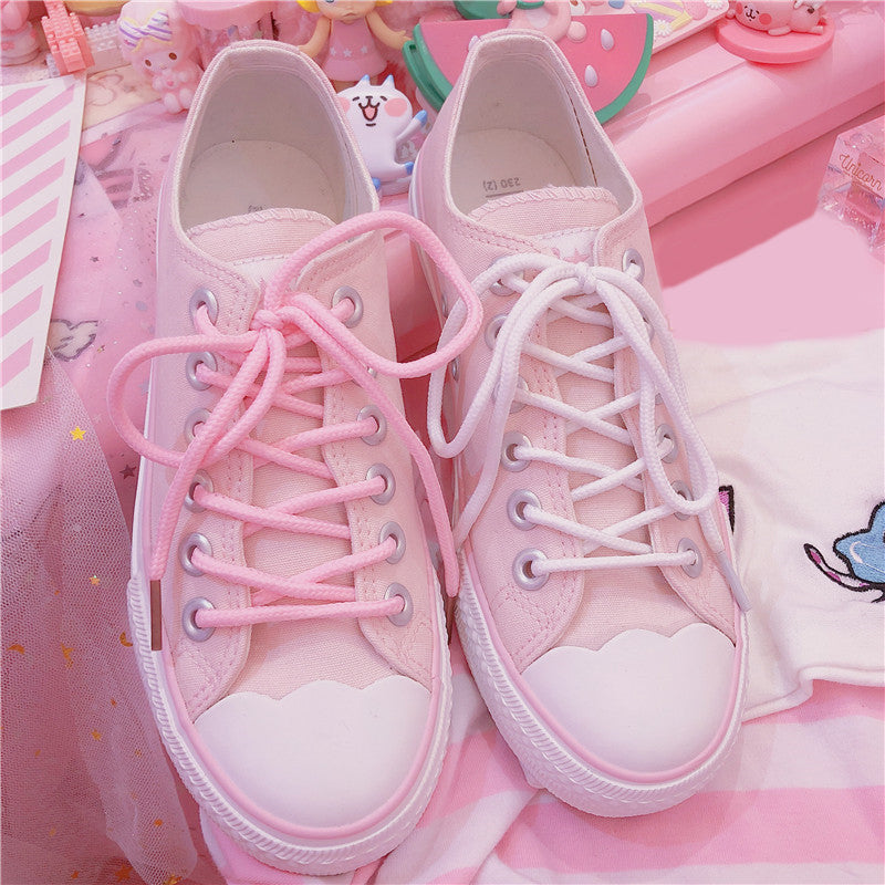 Free Shipping Harajuku Cherry Blossom Shoes SE20031