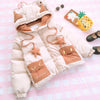 Cute Monster Pocket Star Hoodie Coat SE20123