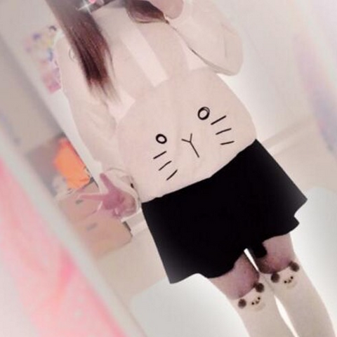 Cute kawaii bunny fleece review SE172
