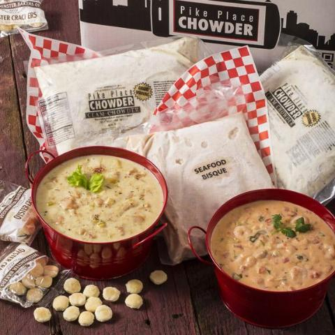 2 Quarts of Chowder: Overnight Shipping