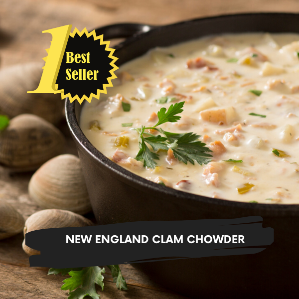 2 Quarts of Chowder: 2-Day Shipping