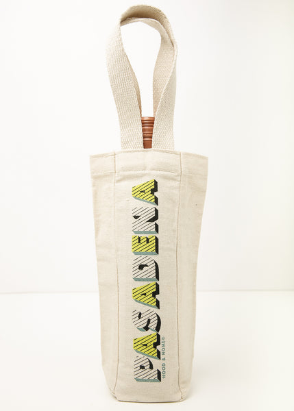 Hood and Home | Canvas Wine Tote