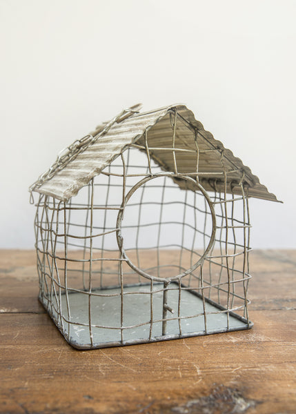 Tin Bird House