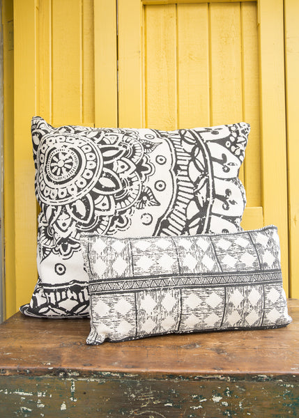 Indian Basant Long Pillow