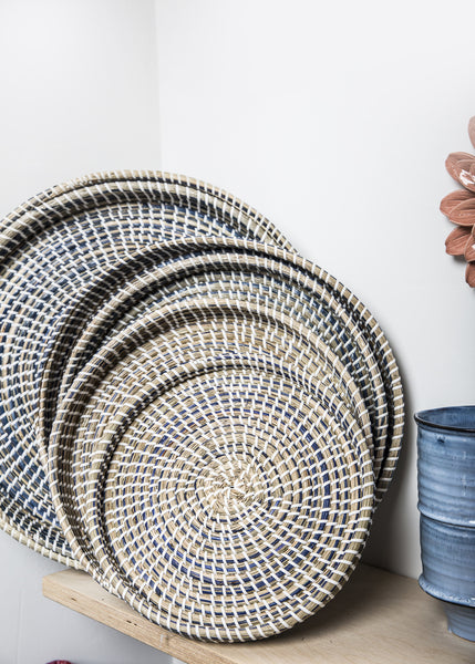 Woven Basket Trays