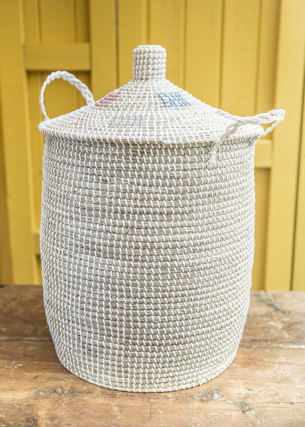 Seagrass Hamper Basket