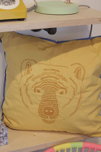 Mister Bear Accent Pillow