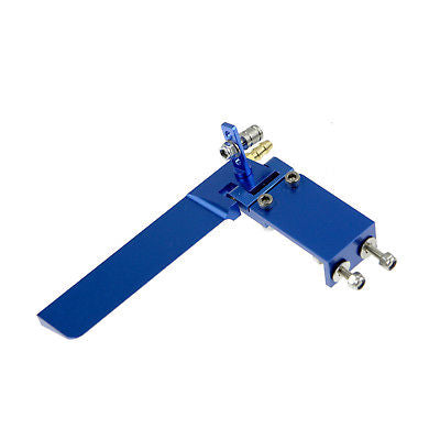 95mm Aluminium Rudder with Water Pickup for R/C Boat Blue