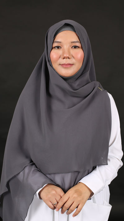 HUMAIRAH KHIMAR in STEEL