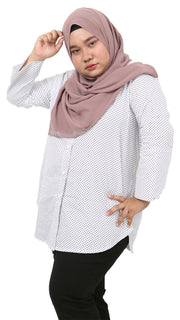 NAWRA PLUS SIZE in POLKA