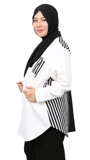 NAWRA PLUS SIZE in White