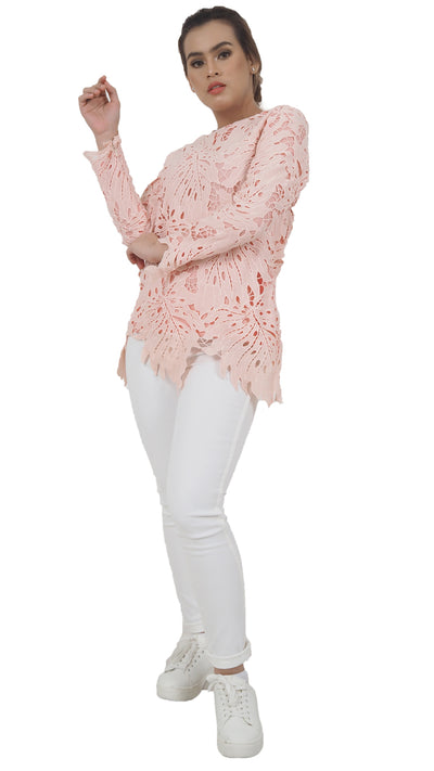 JULIE TOP in PINKY PEACH