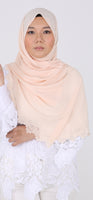 Imani Laser Cut Shawl in Sandy Land