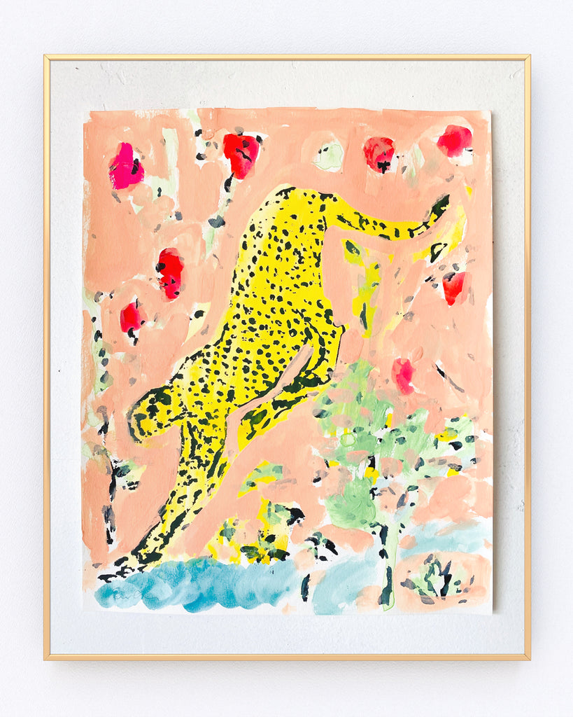 Serigraph Painting // Cheetah No. 10