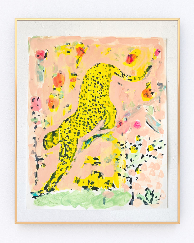 Serigraph Painting // Cheetah No. 9