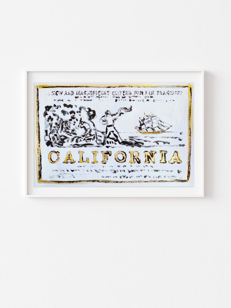 Hand Painted Multiple // California, New & Magnificent No. 1