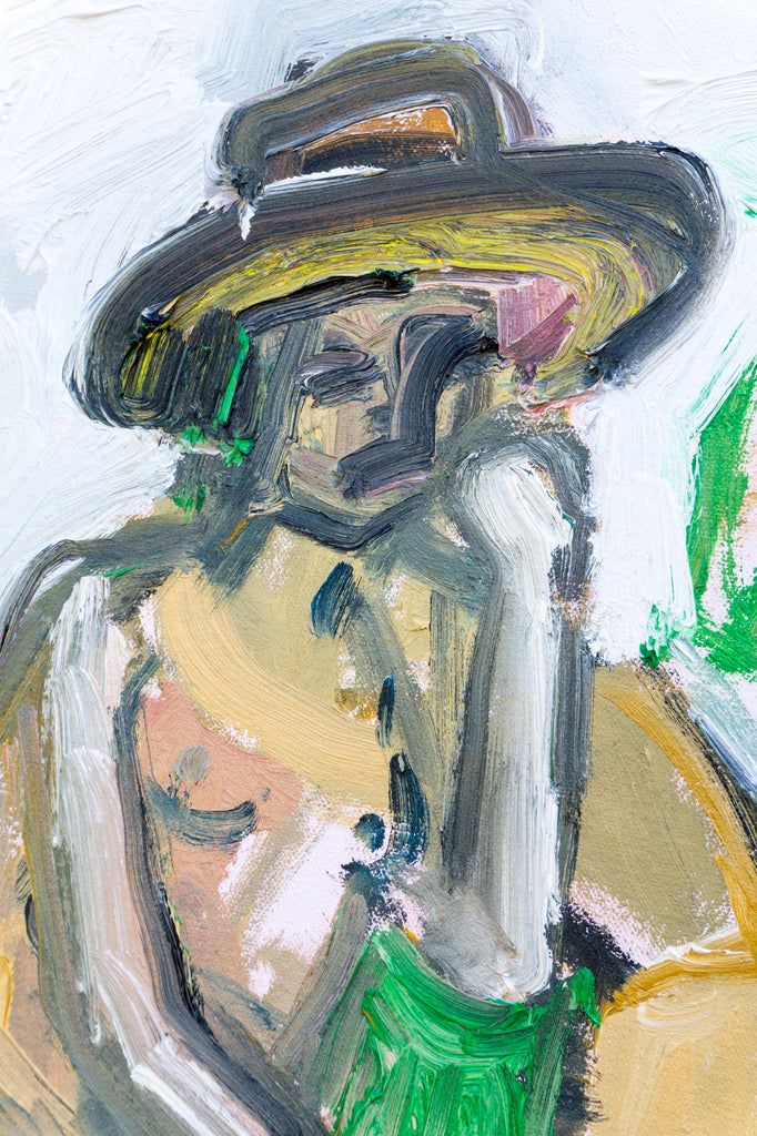 Painting // Nude In Hat