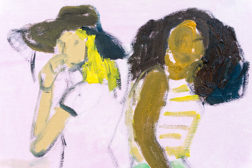 Painting // Two Friends (With Hat)