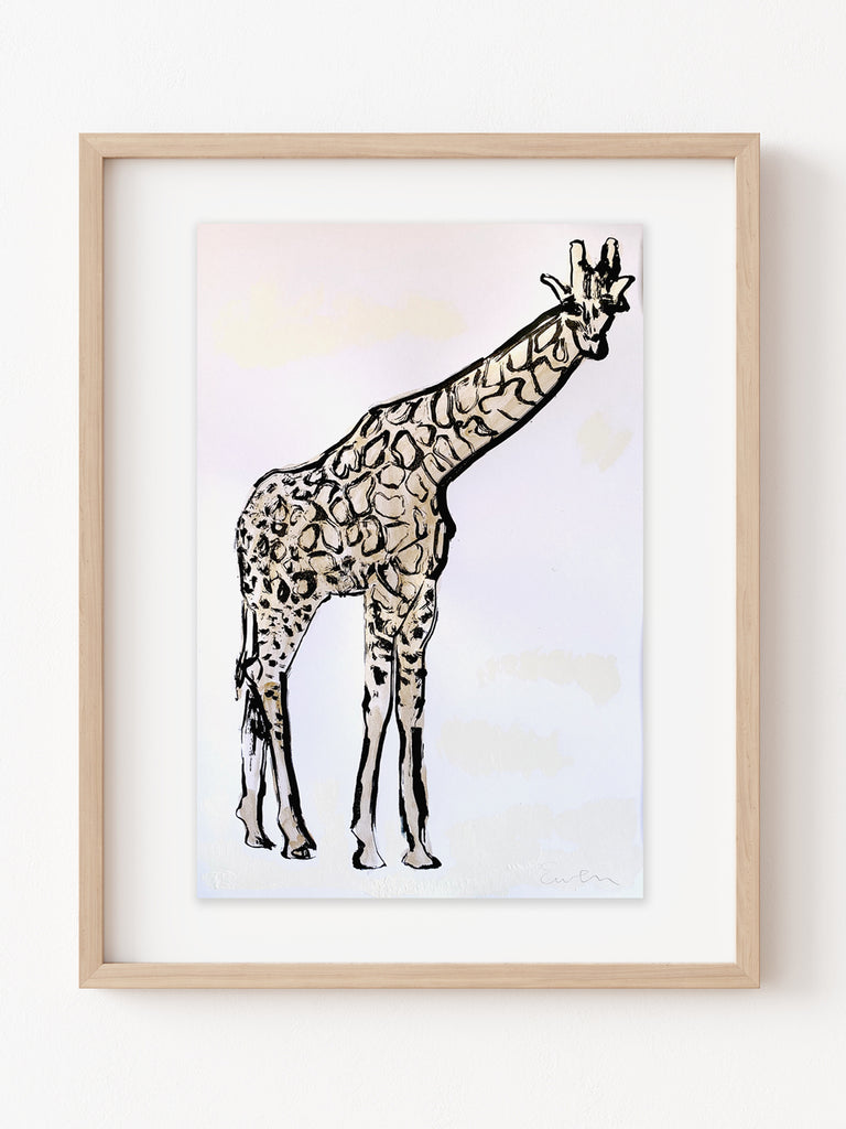 Hand Painted Multiple // Golden Giraffe No. 2