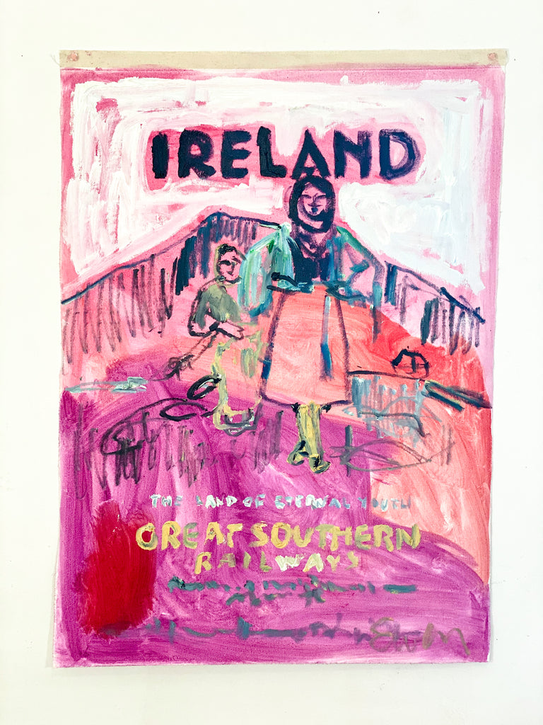 Painting // Ireland, The Land of Eternal Youth