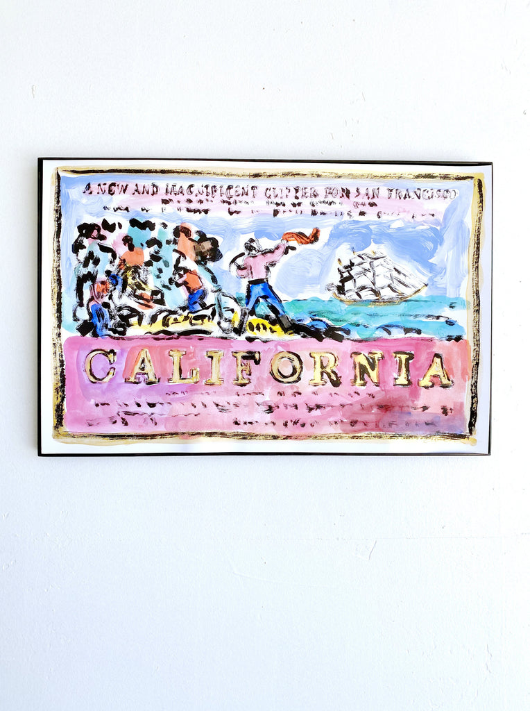 Hand Painted Multiple // California, New & Magnificent No. 11