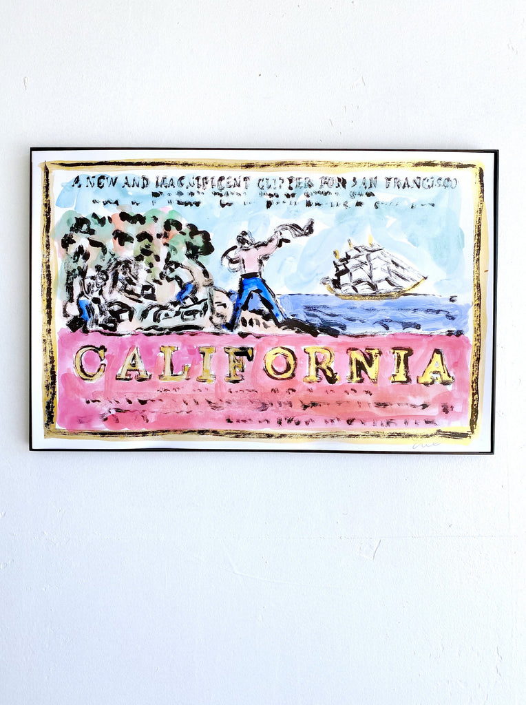 Hand Painted Multiple // California, New & Magnificent No. 10